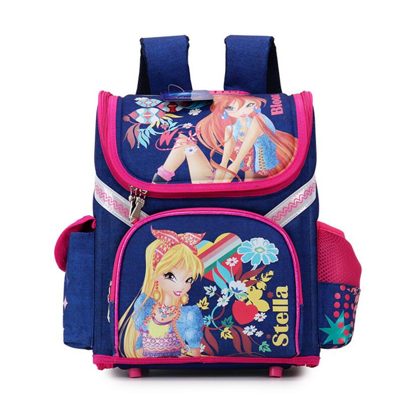 High Quality 15models Children School Bags Butterfly Boys School Backpack Girls Orthopedic Waterproof Schoolbag Mochila Infantil