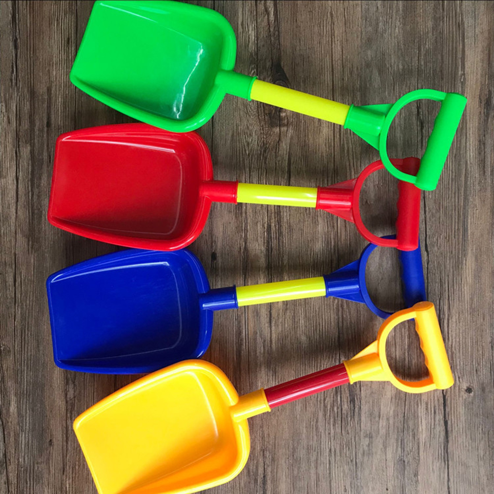 Beach Toy Shovels Kids Play Sand Shovel Snow Tools Summer Seaside Dig Sand Shovel Soil Water Toys Random Color