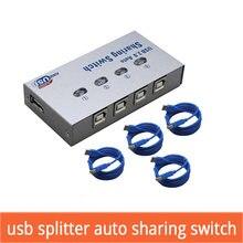 4 порта usb Автоматический коммутатор в 1 выход usb20 концентратор