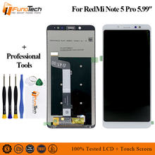 цены на New AAA LCD For Xiaomi Redmi Note 5 Pro LCD Display Touch Screen Digitizer Assembly Replacement For Xiaomi Redmi Note5 5.99Inch  в интернет-магазинах