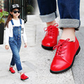 Kids Shoes Boys Sneakers New Autumn WInter Sport Breathable Solid Casual Shoes Children Soft Leather Girls Shoes Size
