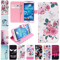 Для iPhone 4 4s 5 5s 6 6 s 7 Плюс Кожа Флип бумажник Case стенд Luruxy Случаи Обложка Для Samsung galaxy S3 S4 S5 Mini S6 S7 края
