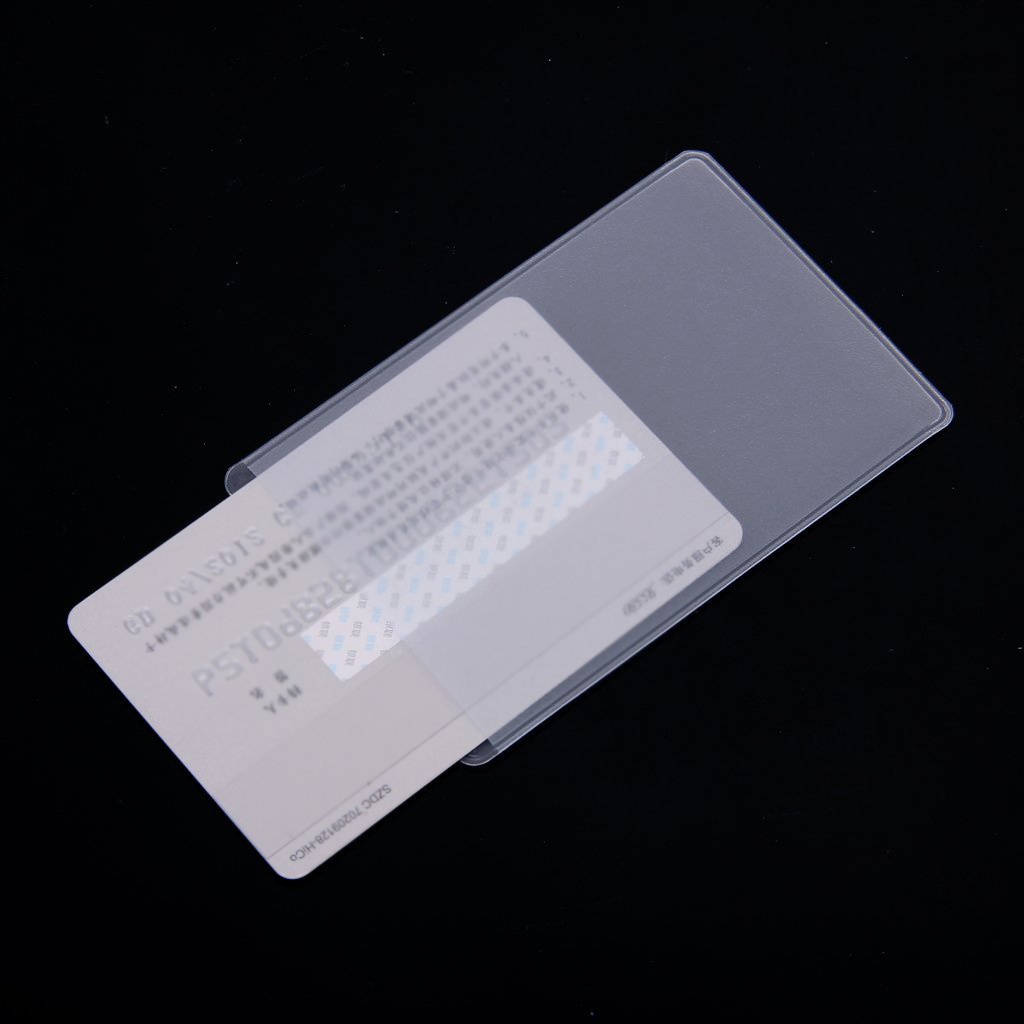 hot 10pcs soft clear plastic card sleeves protectors for id cards band cards in badge holder accessories from office school supplies on aliexpresscom - Plastic Sleeves For Cards