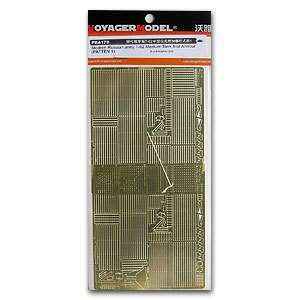 KNL HOBBY Voyager Model PEA170 T-62 Medium Tank Additional Fence Style 1 Metal Etching t каталог sun voyager