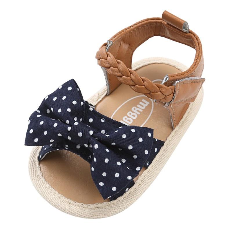 7b0d96cf1 Summer Girls Sandals Newborn Baby Shoes Cute Beach Baby Girl Sandals ...