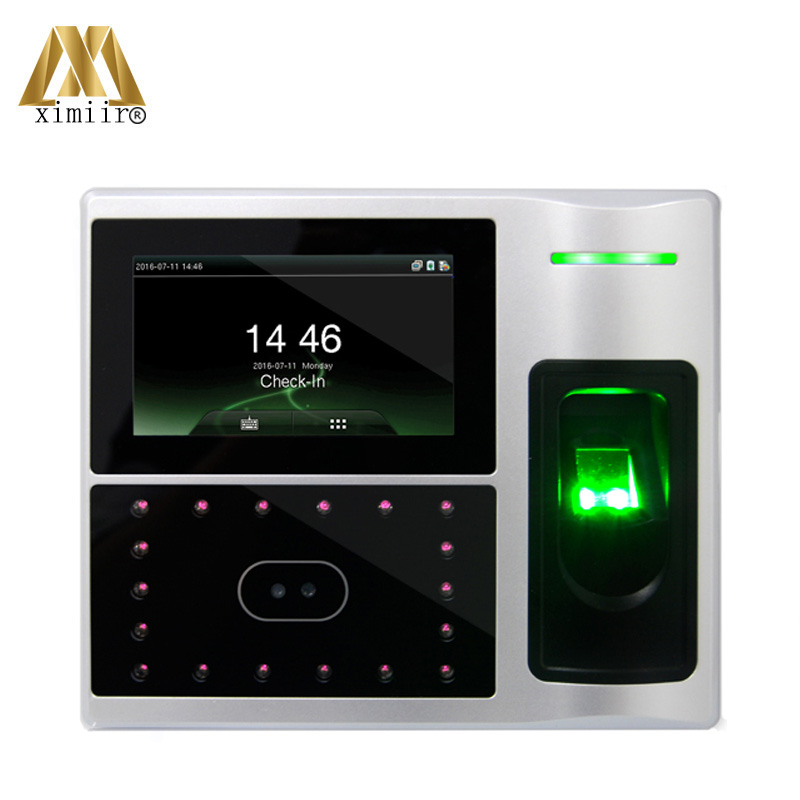 Linux System Access Control System TCP/IP Communication Infrared Camera Iface802-H Face Fingerprint Attendance Recorder