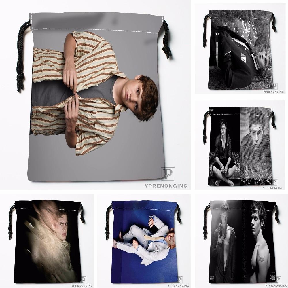 Custom American Horror Stories Drawstring Bags Printing Travel Storage Mini Pouch Swim Hiking Toy Bag Size 18x22cm#180412-11-67