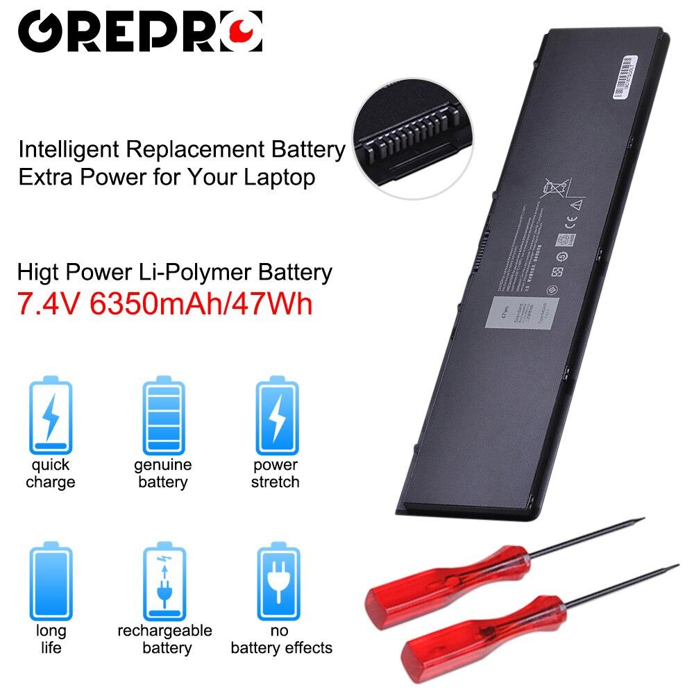 6350 mAh 7.4 V 47Wh Laptop Bateria para Dell Latitude E7420 E7440 E7450 E7440 V8XN3 G95J5 34GKR 3 RNFD 0909H5 0G95J5 5K1GW Baterias