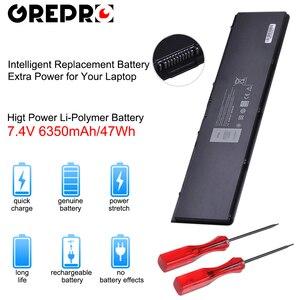 Image 1 - 6350 mAh 7.4 V 47Wh Laptop E7440 Batterij voor Dell Latitude E7420 E7440 E7450 V8XN3 G95J5 34GKR 3 RNFD 0909H5 0G95J5 5K1GW Batterijen