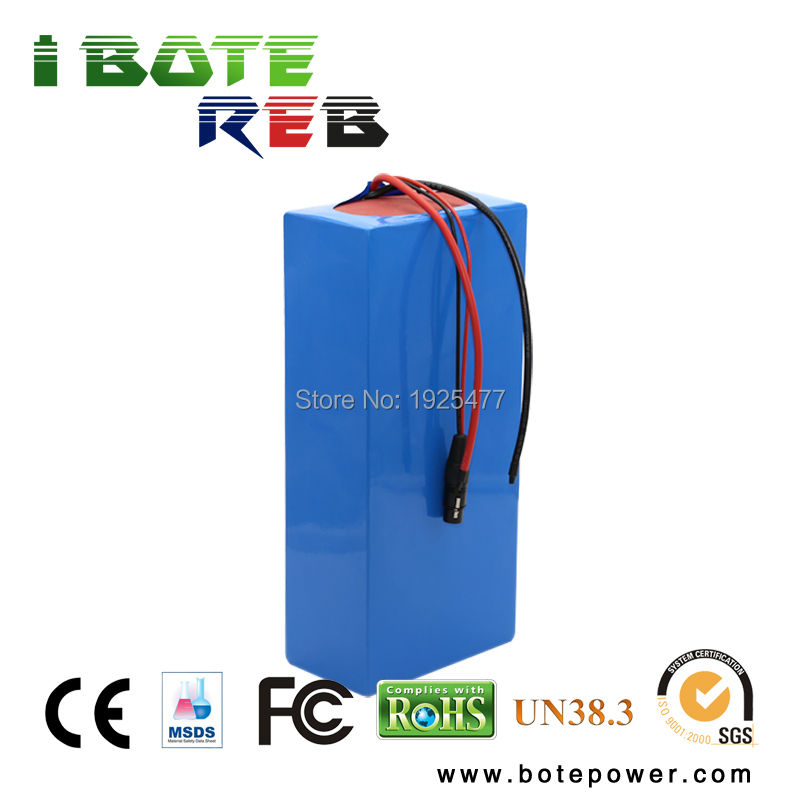 Lithium battery pack 72V 20Ah li-ion 18650 battery with 3A charger and BMS for 5000W motor 10s 36v li ion lithium cell 40a 18650 battery protection bms pcb board balance r179t drop shipping