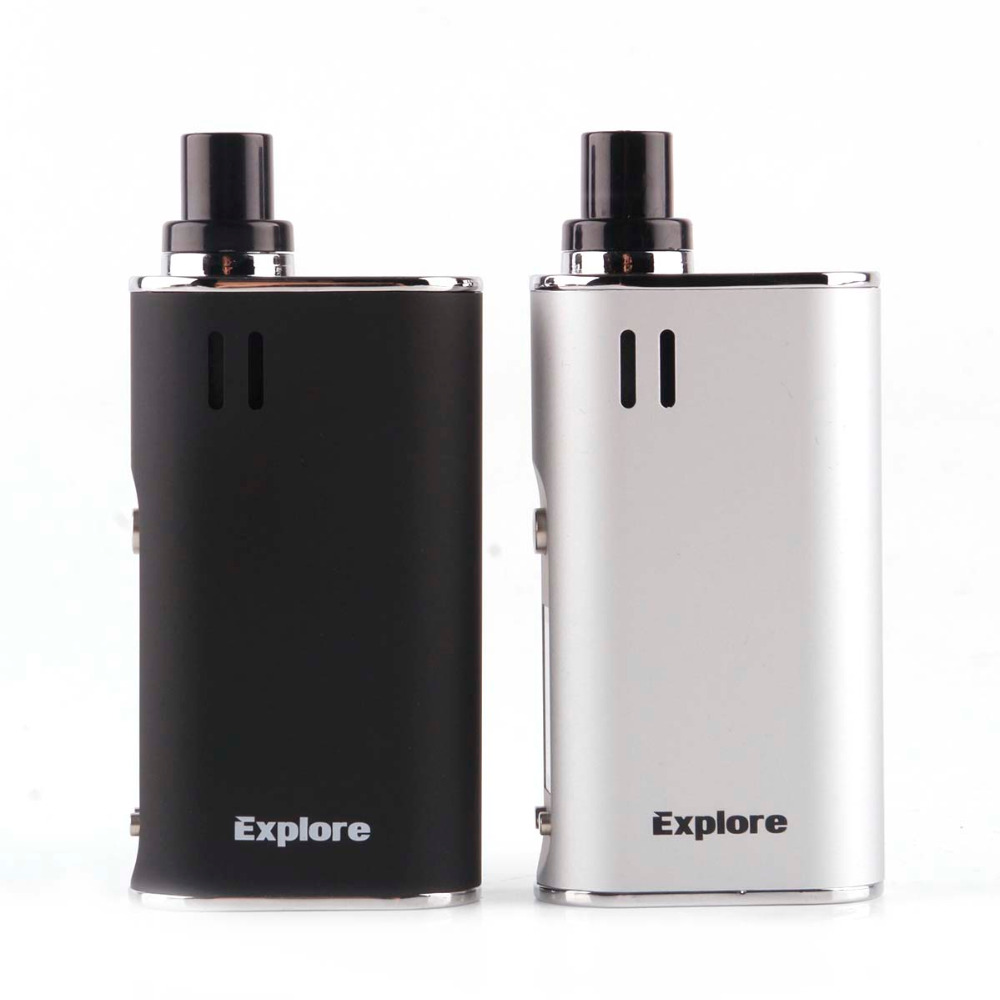 Yocan Explorer 2 dans 1 Vaporisateur mod Kit pour cire et herbe sèche vaporisateur 2600 mah À Base de Plantes cigarette électronique kit vaporisateur Narguilé