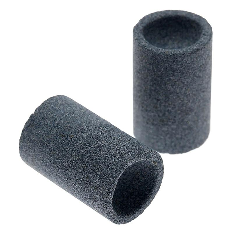 2PCS Steel Tip Sharpener Professional Darts Accessories Sand Stone Sharpening Stone Dart Sharpener Grinder