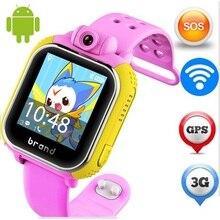 Original jm13 3g smart watch cámara gps lbs wifi kids reloj Supervisan el Perseguidor SOS de Alarma Para IOS Android smartwatch pk q90 Q50