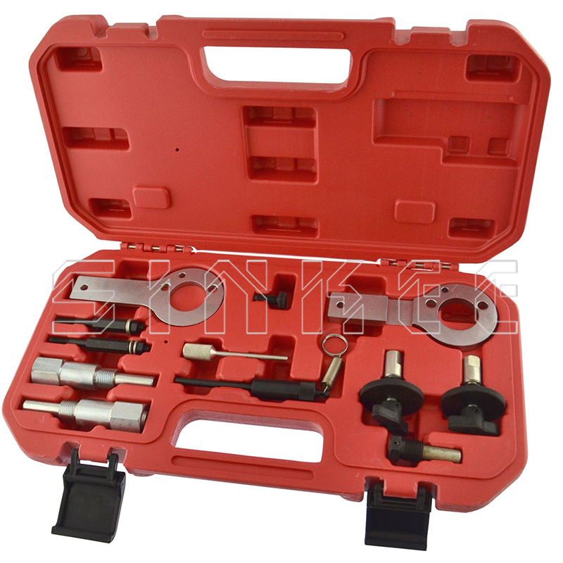 12pcs Engine Timing Tool Kit for Fiat Vauxhall Opel Saab 1.3 1.9 CDTI Belt Replacement Kit Professional SK1043