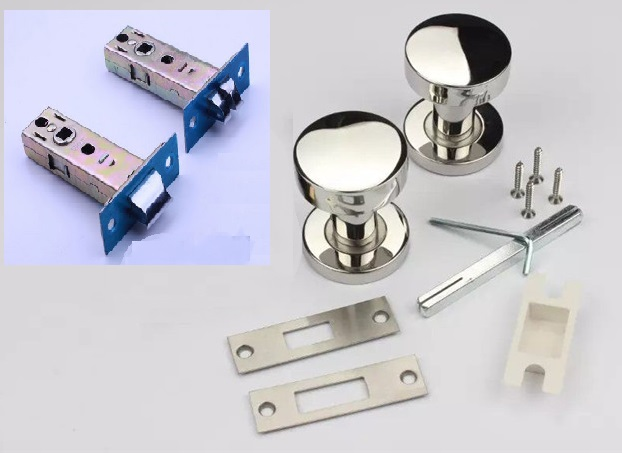 Door Mortise Lock Set Biscuit Design (Double-Sided) (Door Thickness: 35-50mm) Escaping door mortise lock set olive design single sided door thickness 35 50mm escaping