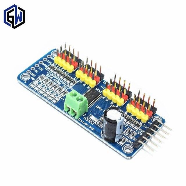 16 Channel 12-bit PWM/Servo Driver-I2C