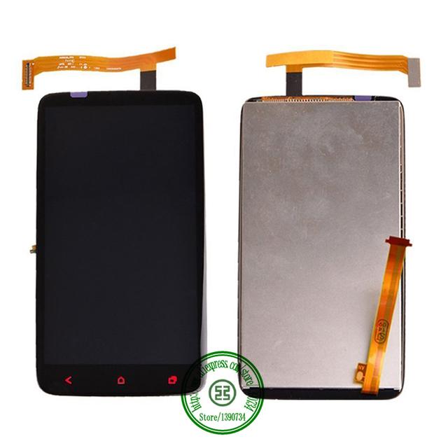 Calidad superior completa pantalla LCD táctil digitalizador asamblea para HTC uno X más X + S728e reemplazo