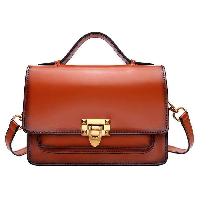 abd168a0f17c Дизайнерские сумки известный бренд женские сумки 2019 Мини Мода маленькая  квадратная сумка из натуральной кожи маленькие