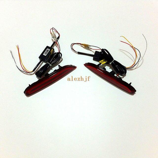 Varthion Guia de Luz LED Luzes de Freio capa Infiniti QX80 Q30 Q70 Q50 Q60 Q70L etc, Brake Turn Signal Correndo Luzes de Advertência