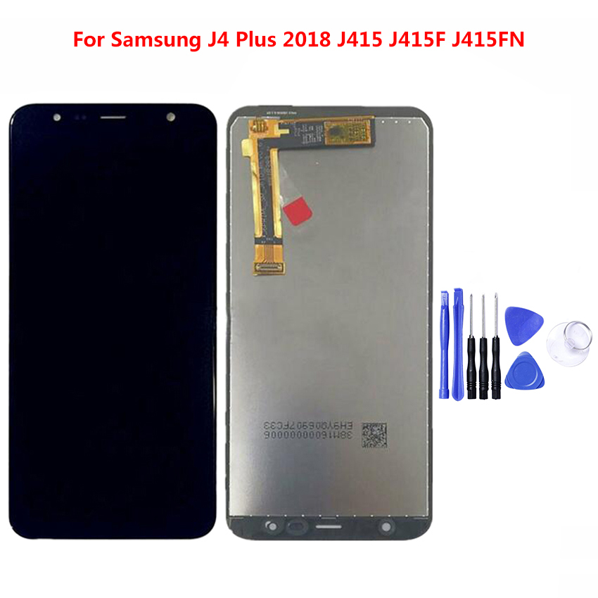 100% Test LCD Display For Samsung J4 Plus LCD J4 Plus J415 LCD  LCD Screen Touch Digitizer Assembly100% Test LCD Display For Samsung J4 Plus LCD J4 Plus J415 LCD  LCD Screen Touch Digitizer Assembly