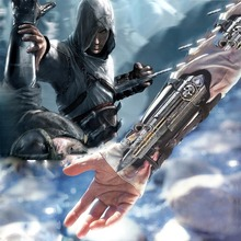Hidden Blade Sleeve sword Action Figure assassins Hidden Blade Edward Weapons Sleeves swords Can the ejection kids toy gift new wholesale cos assassins creed 3 hidden blade pvc action figure edward kenway assassin creed hidden blade model kids toys