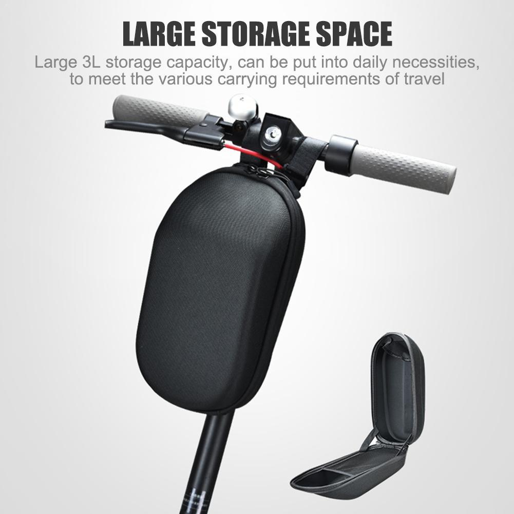 For Millet M365 Scooter Bag EVA Hard Shell Large Capacity Bag Waterproof Storage Bag Charger Organizer Head Bag Handle Mount