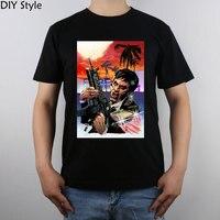 Scarface Tony Montana Đầu Của Al Pacino T-Shirt Top Tinh Khiết Bông Nam áo sơ mi T Mới Thiết Kế Chất Lượng Cao