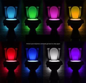 Auto-Lamp Toilet Pedestal Pir-Sensor Night-Light Body-Motion Closestool Activated-Seat