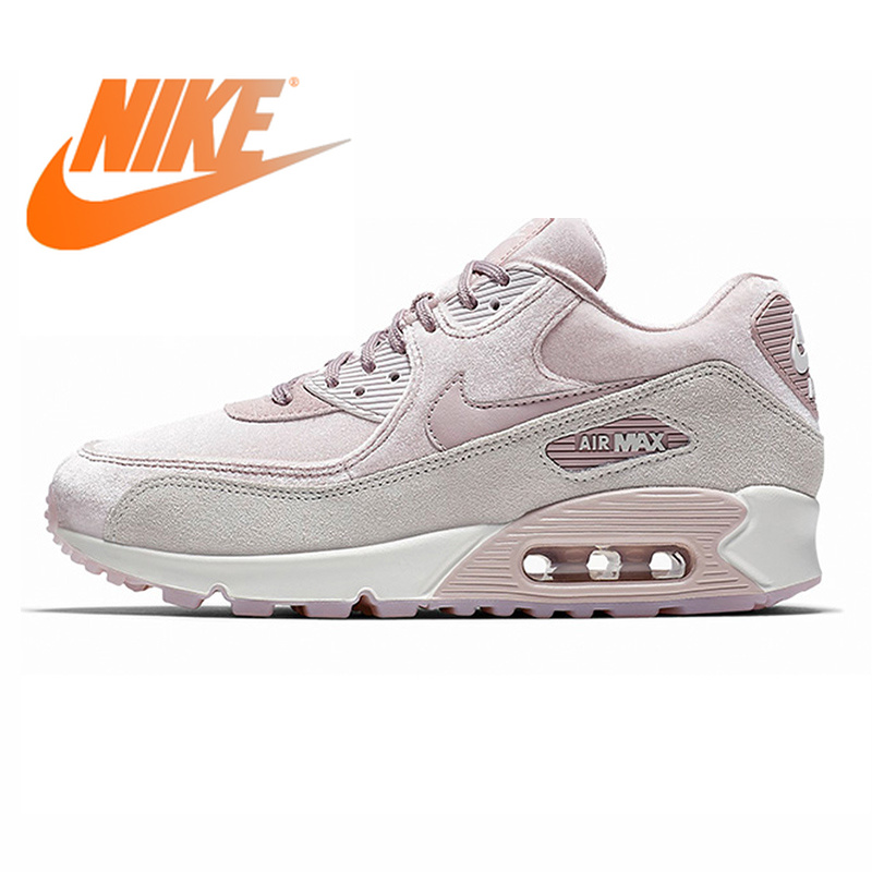 check out 3850f 5ebd6 Original Authentic NIKE AIR MAX 90 LX Women s Running Shoes Sport Outdoor  Sneakers Comfortable Durable Breathable