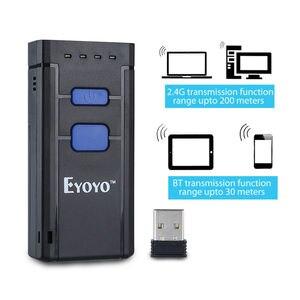 Image 4 - EYOYO MJ 2877 Mini Máy Quét Mã Vạch 1D 2.4G Máy Quét Mã Vạch Không Dây Cho Android IOS Windows Bluetooth Máy Quét