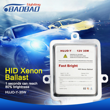купить BAOBAO 12V 35W Fast Start Ultra Slim Ballast Xenon HID Kit Digital Ballast Waterproof Protection Car Xenon Headlight Ballast дешево