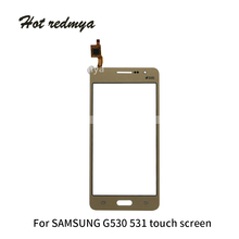 G530 Touch Screen For Samsung Galaxy Grand Prime Duos G531H G531F G530H G530F Sensor Touch Screen Digitizer Front Glass Panel black replacement repair part touch digitizer screen glass for samsung duos sm g530h galaxy grand prime with tools