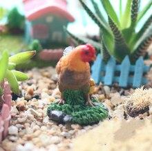 Mini Chicken Family Figure