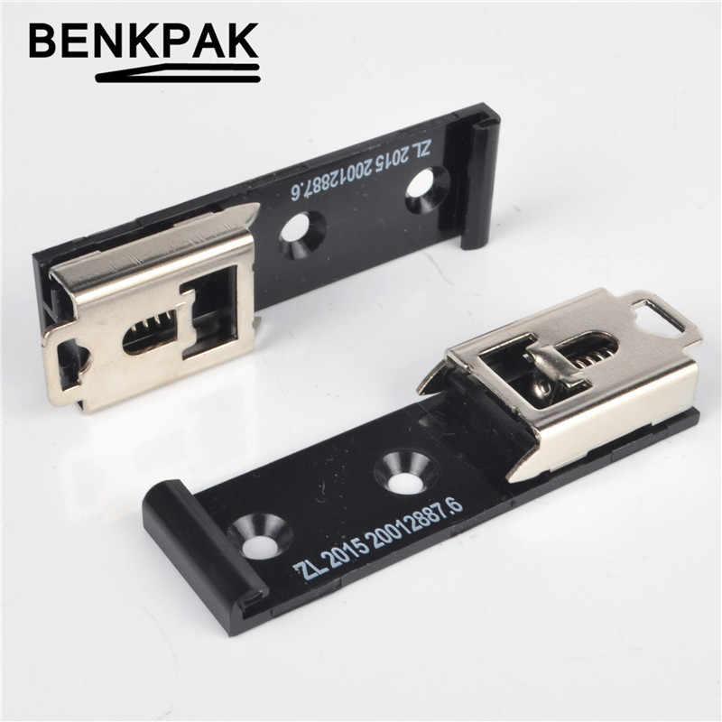 35mm מסילת DIN קבוע מהדק להדק קליפ