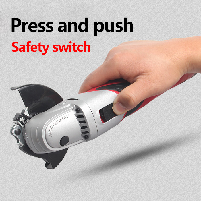 Image 4 - Hephaestus Angle Grinder with 12V Lithium Battery Angular Power Tool Grinding Metal Wood cordless Cutting and grinding Machine-in Grinders from Tools on