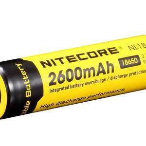 Image 2 - Ban Đầu Nitecore NL1826 2600MAh 18650 3.7V Max 2A 18650 Pin Sạc Li ion (NL186) Cho Đèn LED