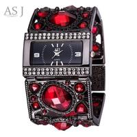 ASJ Brand Lady Bracelet Watches Women Luxury Gold Fashion Casual Clock Diamond Dress Quartz Watch Relogio Feminino Montre Femme