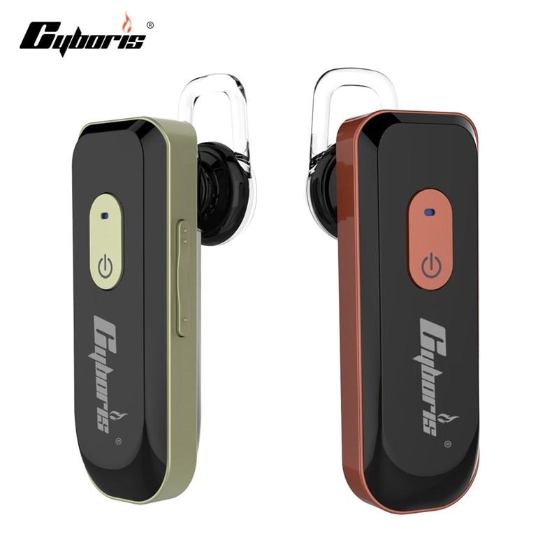 Cyboris Bass Wireless Headphone Earphones Universal Bluetooth 4.1 Headset Earphone Mic Headphones Stereo Ear Hook for phones