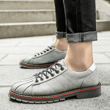 New Arrival 2018 Spring/autumn Casual Microfiber Shoes Man Soft Breathable Vintage Fashion Joker Mens Size 39-44 Hh5