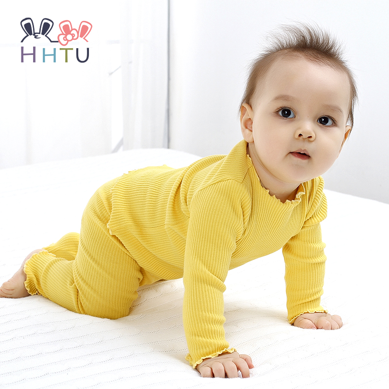 1ac435018 Buy HHTU 2017 Newborn Autumn Baby Boys Girls Children Suits Cotton ...