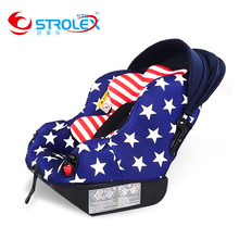 Strolex  5-in-1 Baby Car Seat Stroller Hard Interface Forward And Backward Sitting And Lying Baby Car Seat Baby Booster Seat недорого