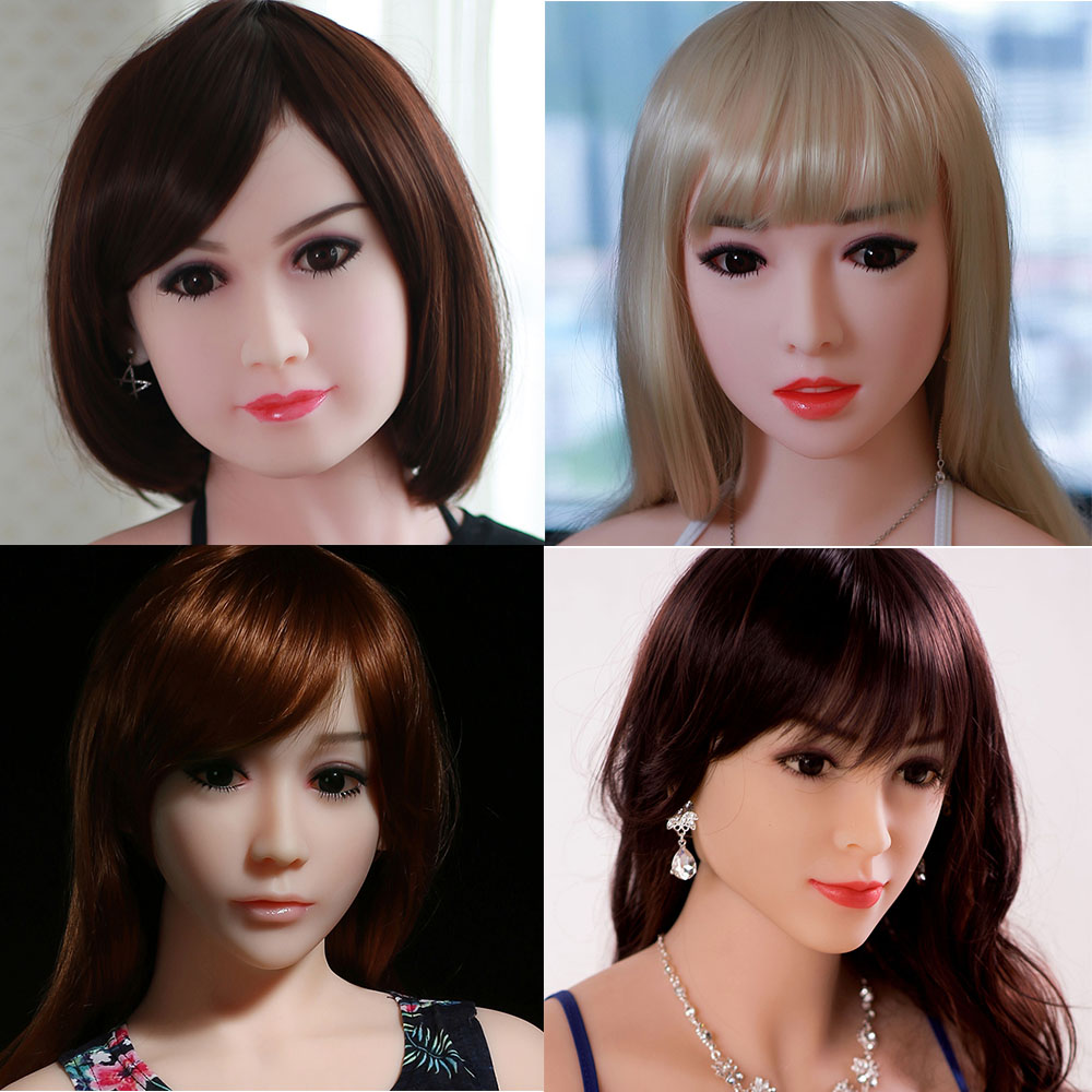 HDK Sex Dolls Head for sex doll Height 140cm~170cm Real silicone Love Doll Heads With Oral New Sex Toys For Men sex dolt heads цена и фото