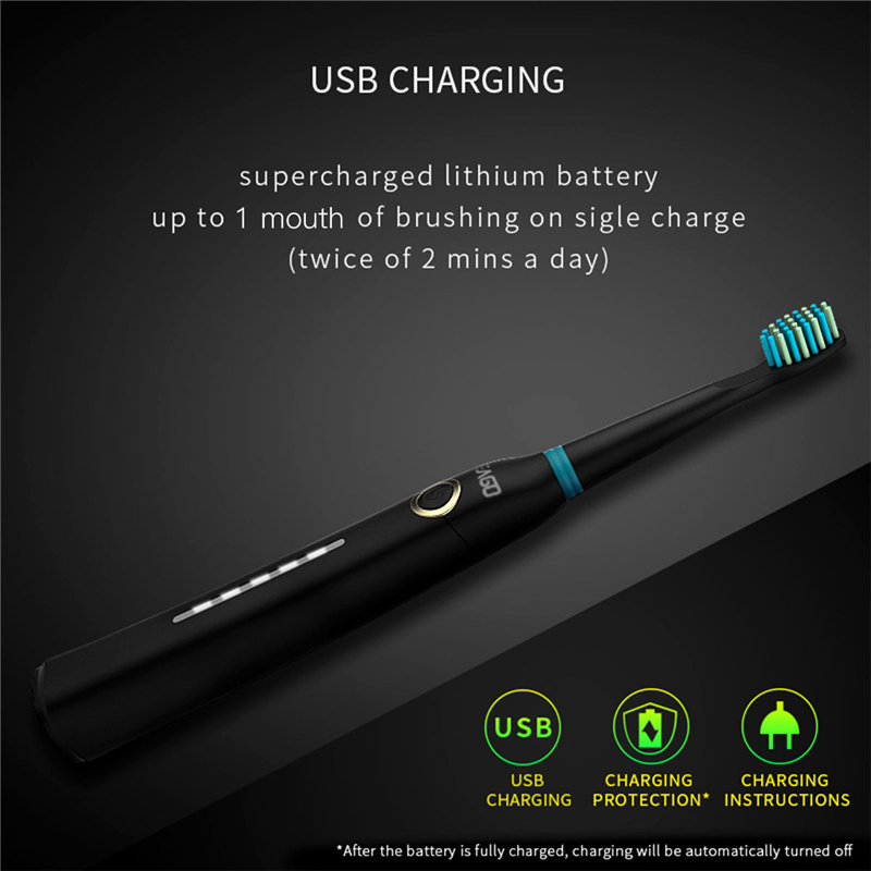 Image 3 - SEAGO SG 958 Sonic Electric Toothbrush DuPont Brush Whitening Teeth Oral Hygiene 5 working Modes USB Rechargeable Teeth Brush-in Electric Toothbrushes from Home Appliances