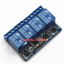 4 Four Channel relay module with opto-isolated, compatible w