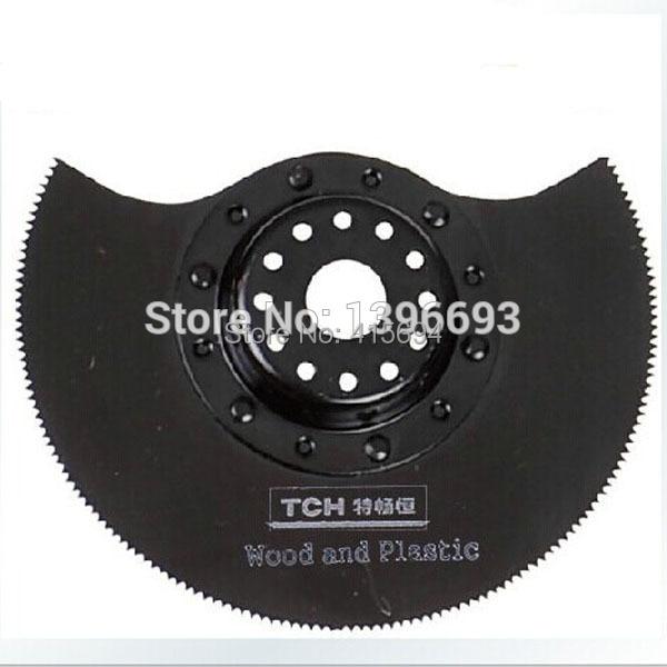 3vnt. / Rinkinys 78mm pusapvalis HSS ašmenų virpesių įrankis. - Ašmenys pjūklams - Nuotrauka 2