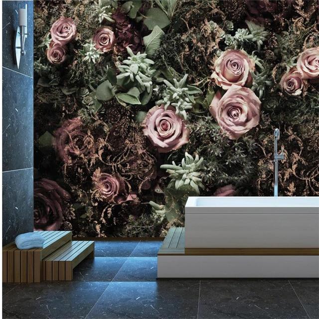 Beibehang Papel Parede Fond D écran Personnalisé Scandinave Floral