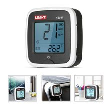 PM2.5 Detector A25M Portable Air Quality Monitor LCD Gas Analyzer Indoor PM2.5 Tester USB Rechargeable Thermometer цены