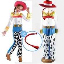 1e141c04ccad Juguete historia cantar vaquera Jessie traje del traje de Cosplay de Halloween  Disfraces de Carnaval para niño