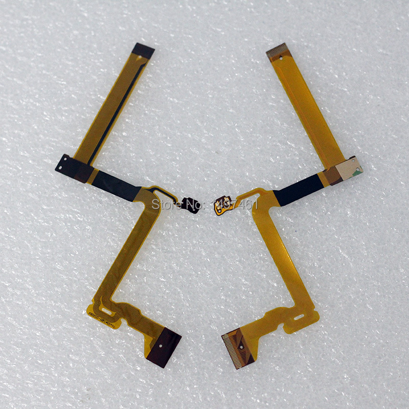 2PCS LCD hinge rotate shaft Flex Cable for Panasonic SDR-H85 SDR-H86 SDR-H95 SDR-S45 S50 T50 H85 H86 H95 S45 Video Camera