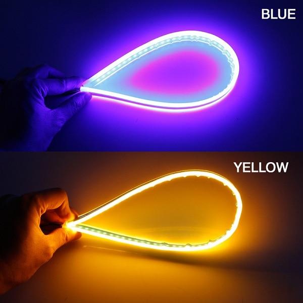 Blue turn Yellow